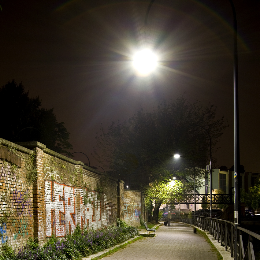 Illuminazione pubblica - Milano