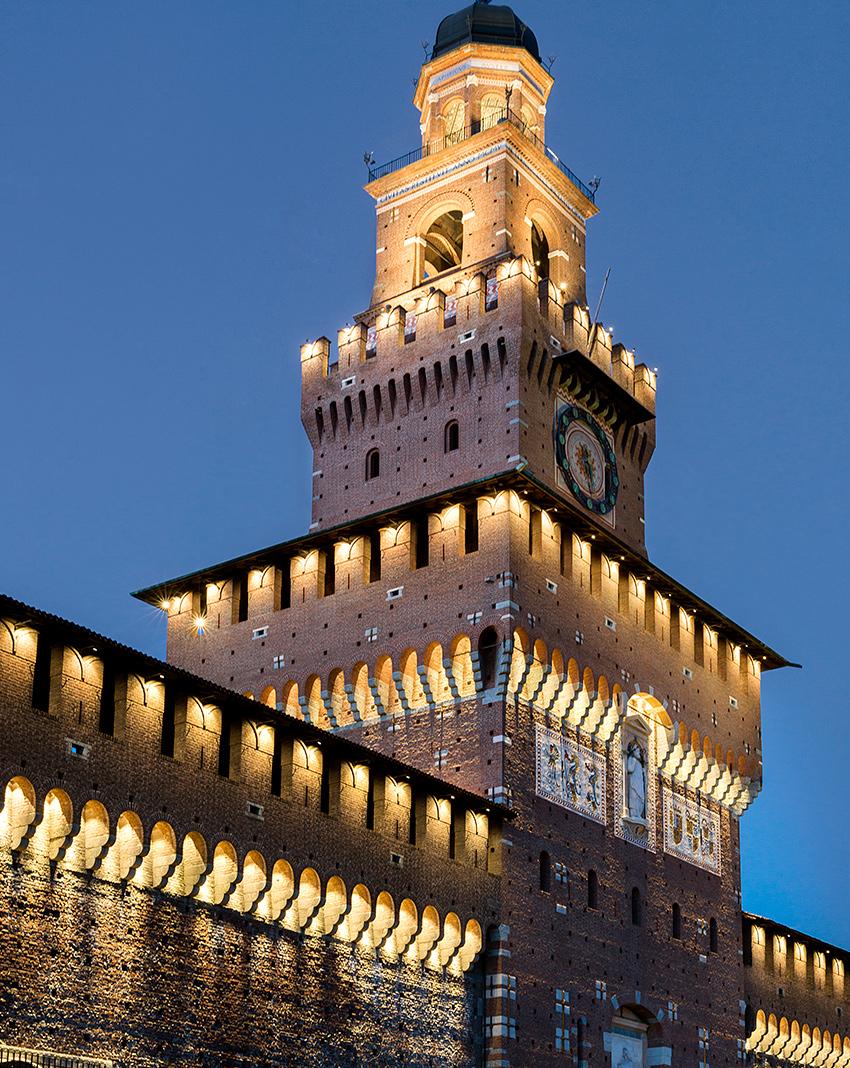 Bastione Castello Sforzesco Milano